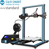 "SainSmart x Creality CR-10 3D Printer, 11.8""x11.8""x15.8"", Resume Printing, Semi-Assembled"