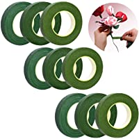 9 Pcs Boeket Tape Green Flower Tape Stem Tape Floral Tape Floral Wire Green Floral Tape Corsages Bloem Arrangement En…
