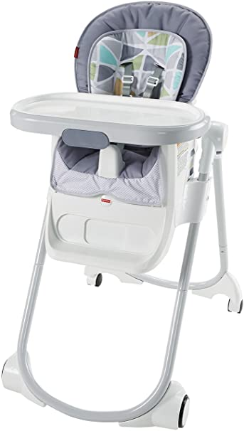 3374a62b600a Amazon.com   Fisher-Price 4-in-1 Total Clean High Chair   Baby