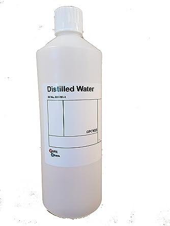 Agua destilada Pure Chem, 1L, 1