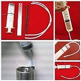PerfecTech Fork Oil Tool Kit Gauge Suspension Level Tuning Syringe Shock Sag Adjuster Seal