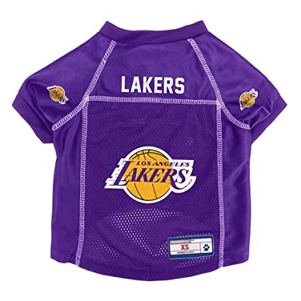 17696c3463d Image Unavailable. Image not available for. Color  Littlearth NBA Los  Angeles Lakers Pet Jersey ...