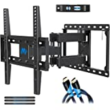 Mounting Dream UL Listed TV Mount TV Wall Mount with Swivel and Tilt for Most 32-55 Inch TV, Full Motion TV Mount with…