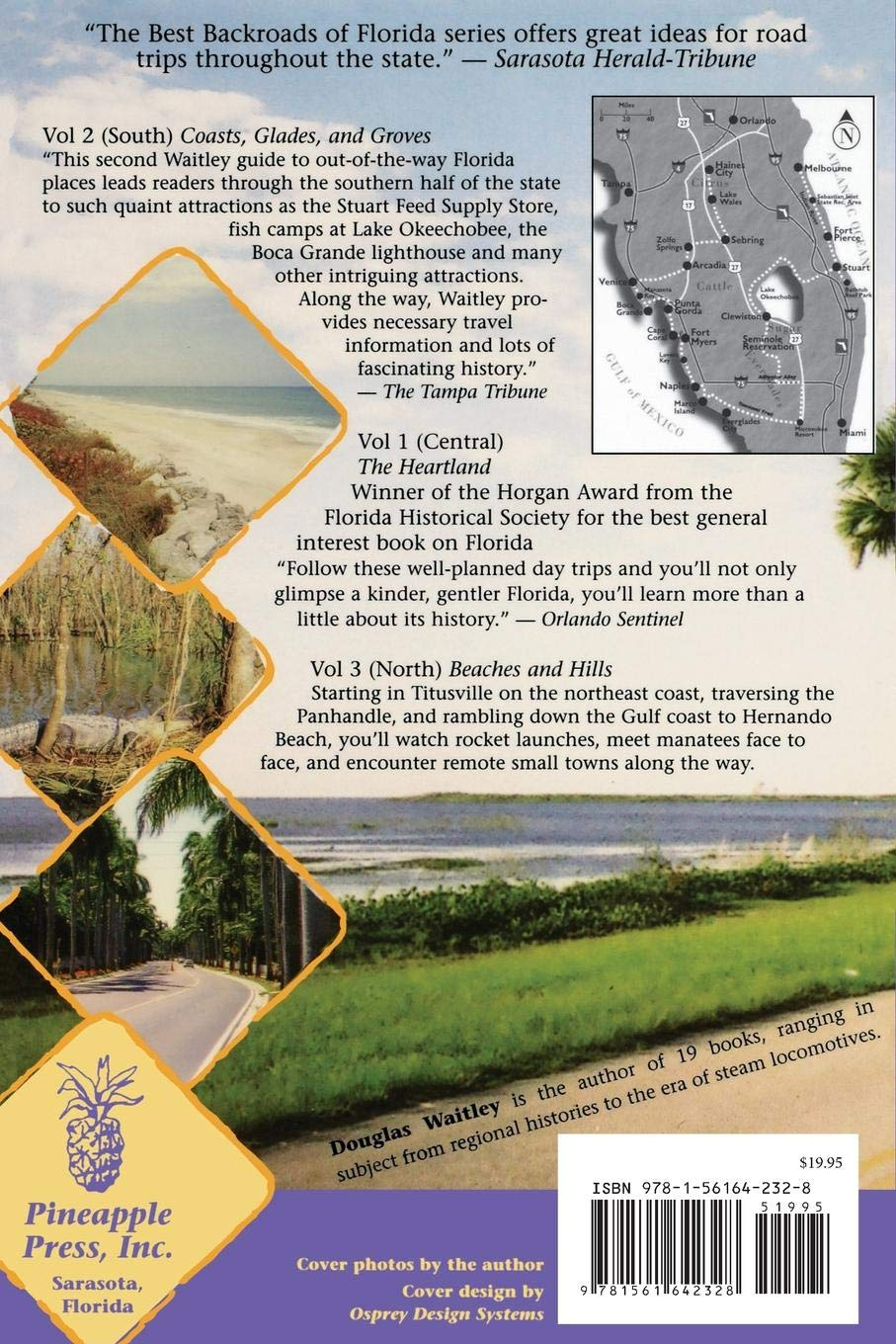 Coasts, Glades, and Groves: 2 (Best Backroads of Florida)