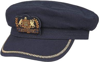 Stetson Gorra Marinera Allenport Hombre - Gorro de capitán con ...