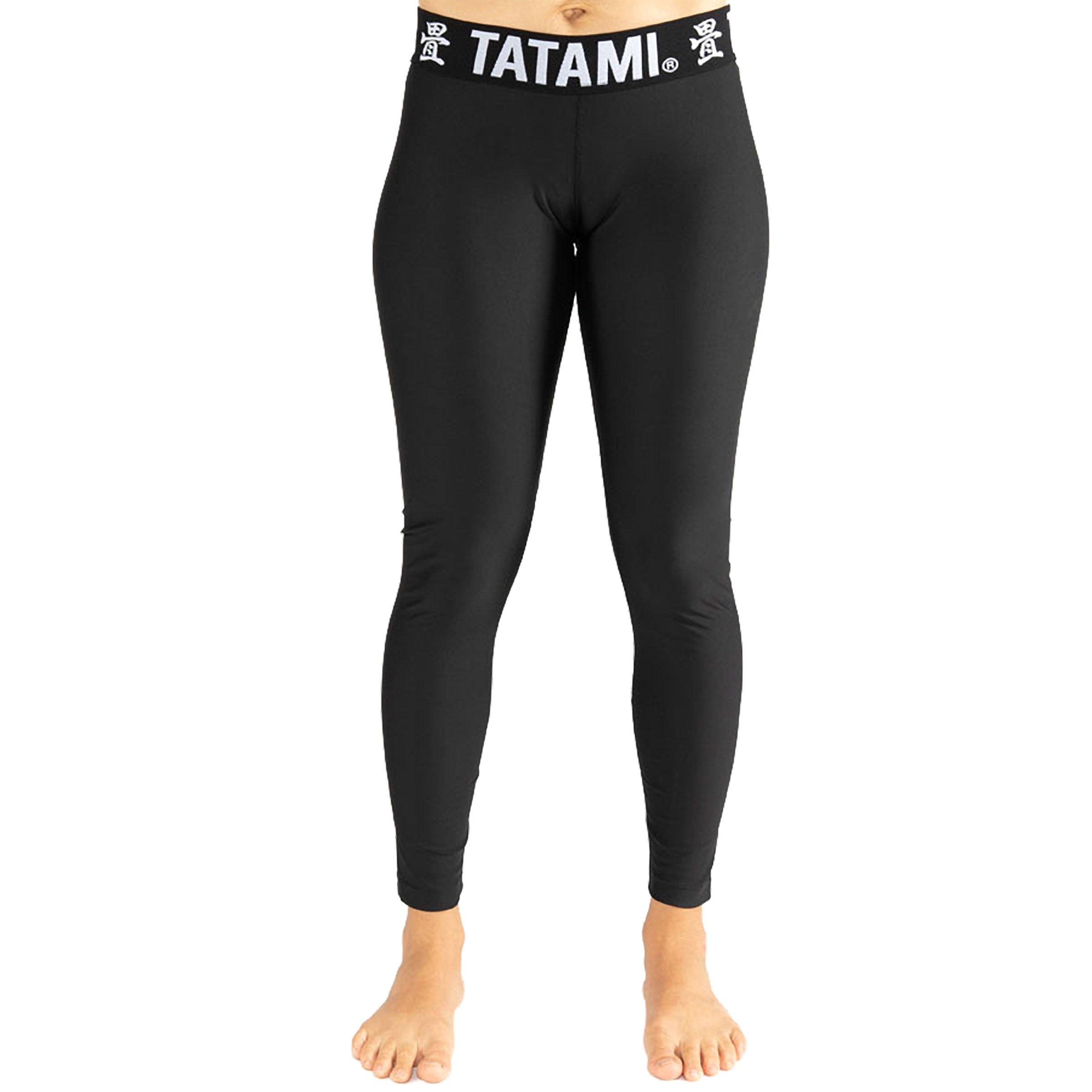 TATAMI Ladies Black Minimal Spats - Black - Small