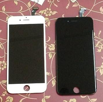6127e1898a iPhone6 フロントパネル カスタムパーツ 4.7インチ 液晶パネル LED スクリーン 修理パーツ (黒)