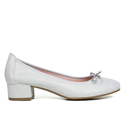 332bc0a4045 Zapatos miMaO. Zapatos Piel Mujer Hechos EN ESPAÑA. Bailarinas Mujer.  Manoletinas. Zapato Mujer Cómodo con Plantilla Confort Gel  Amazon.es   Zapatos y ...