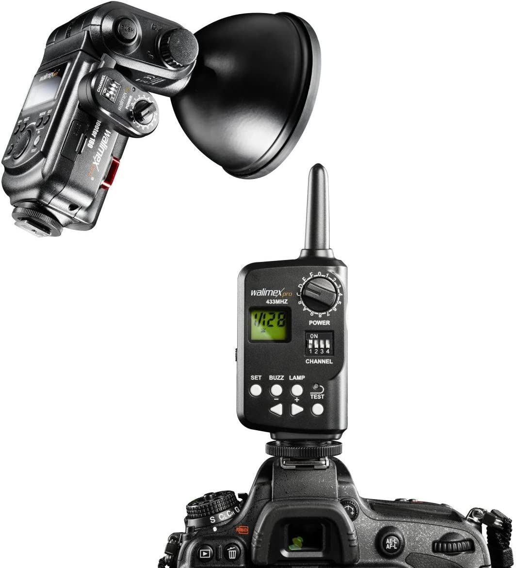 Walimex Pro Flash Remote Control Shutter Set For Camera Photo