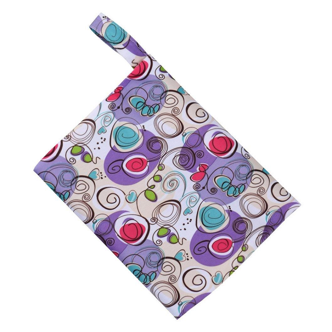 J Sainagce Reusable Washable Wet Bag For Sanitary Pad Menstrual Sanitary Aunt Bag Menstrual Pad Bag