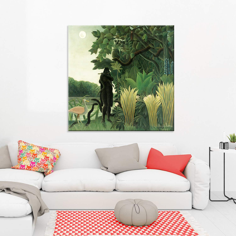 Rousseau il sogno design quadro stampa tela dipinto telaio arredo casa
