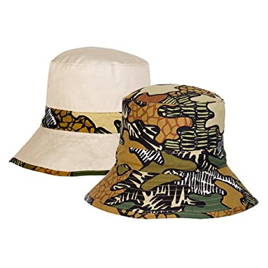 2570f7f2dc2 Tilley Hats Kids Reversible Funky Camo Bucket Hat Camouflage Child Medium