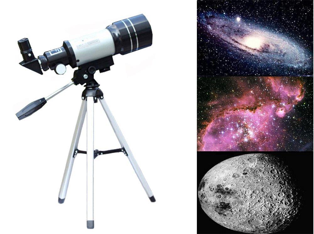 G-Anica® Telescopio Astronomico con Trípode, Telescopio refractor astronómico Ultra-alto Claro De 150 MM Para Telescopio Celestron Adecuado Para La Visualización Terrestre Y Uso Astronómico AM-TW2