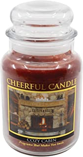 product image for A Cheerful Giver Cozy Cabin Jar Candle, 24-Ounce