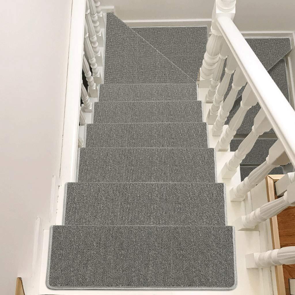 multicolore Stair Step Mat Tapis descalier autocollant /él/égant Plusieurs tailles Color : A, Size : 65x24+3 antid/érapant et r/ésistant /à lusure un ensemble