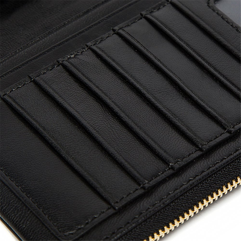 Genda 2Archer Mens Multi-card Genuine Leather Long Purse Business Wallet