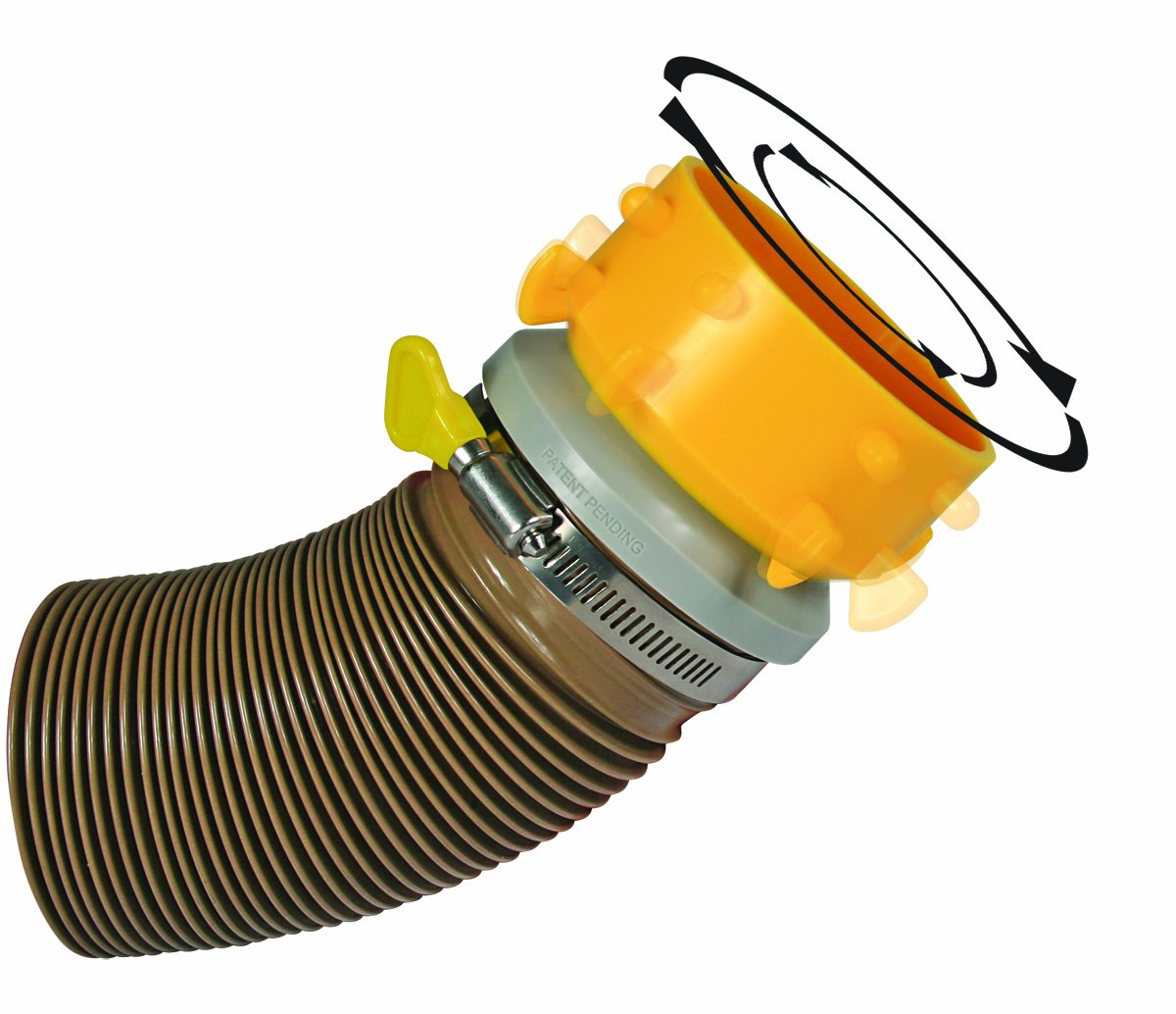 Camco 39471 Revolution RV 4-in-1 Sewer Elbow