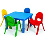 preschool table and chairs. Angeles Furniture 28\ Preschool Table And Chairs E