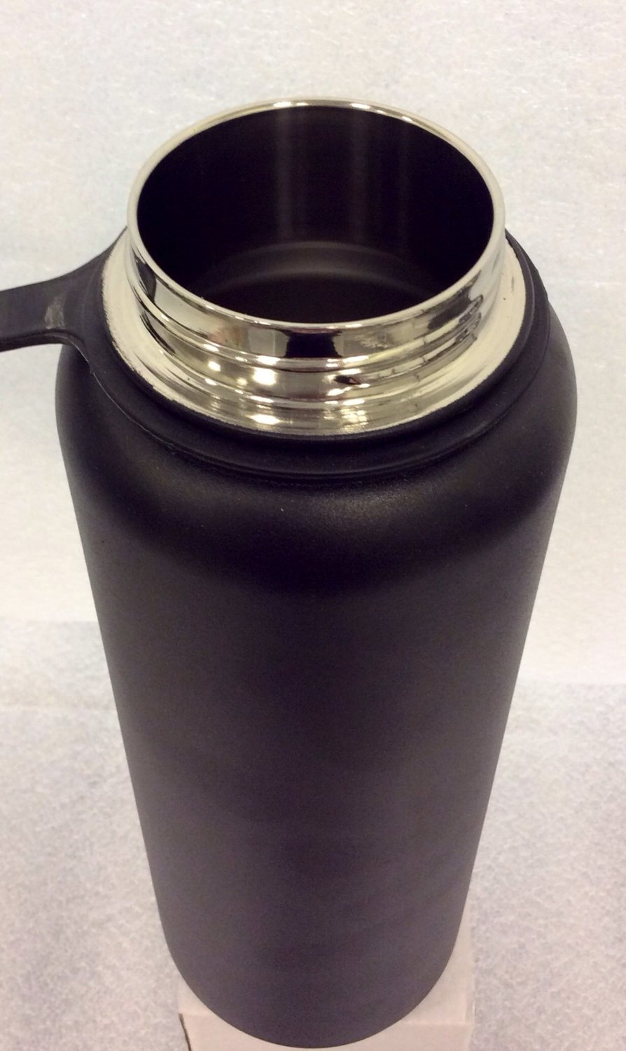 Insulated Stainless Steel Wide Mouth Water Bottle and Beer Growler, 40-ounce by Bargain Home Brew (Image #2)