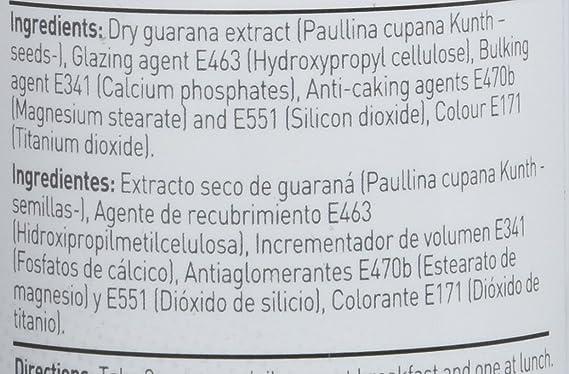 Extracto de Guaraná de HSN Essentials - Fat Burner, Quemagrasas, aumenta tu energía y acelera tu metabolismo - 400mg, 120 cápsulas vegetales: Amazon.es: ...
