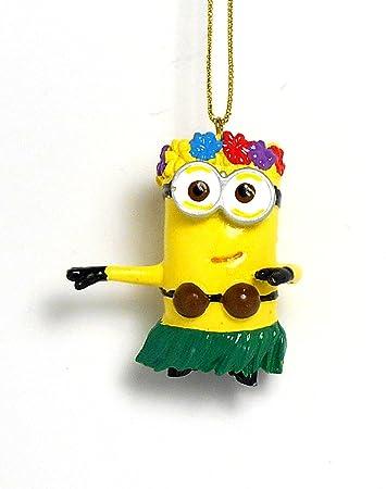 Amazon.com: Despicable Me Hula Dancing Minion Christmas Ornament ...