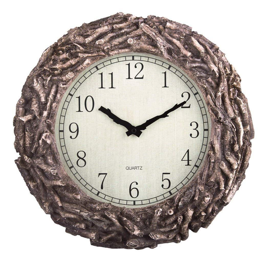 ガーデンクリエイティブミュートクォーツ時計樹脂   B07R2K2823
