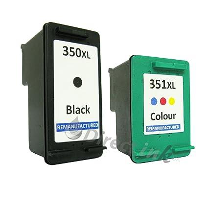 Remanufacturado HP 350 X L & 351 X L - Juego de cartuchos de tinta ...