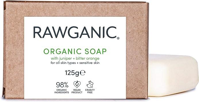 Jabón en barra RAWGANIC | Jabón orgánico calmante, hidratante y ...