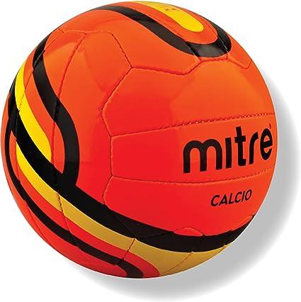 Mitre Calcio - Balón de fútbol para entrenamiento, color naranja ...