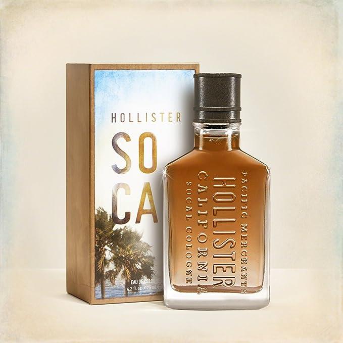 Hollister California socal agua De colonia 1.7 Fl, OZ - 50 ml EDC * nuevo & embalaje original*: Amazon.es: Belleza
