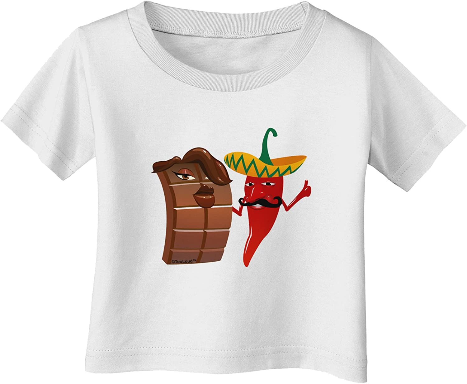 TooLoud Real Life Peepers Infant T-Shirt Dark