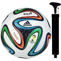 WRF Brazuca Multicolour Hand Stich Football Size-05…