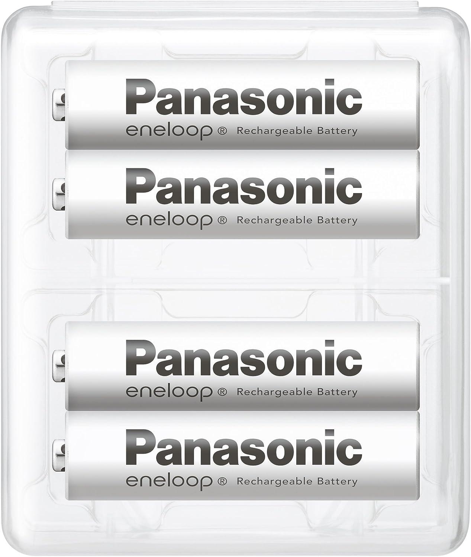 【Amazon.co.jp限定】パナソニック エネループ 単4形充電池 4本パック スタンダードモデル BK-4MCC/4SAのサムネイル画像