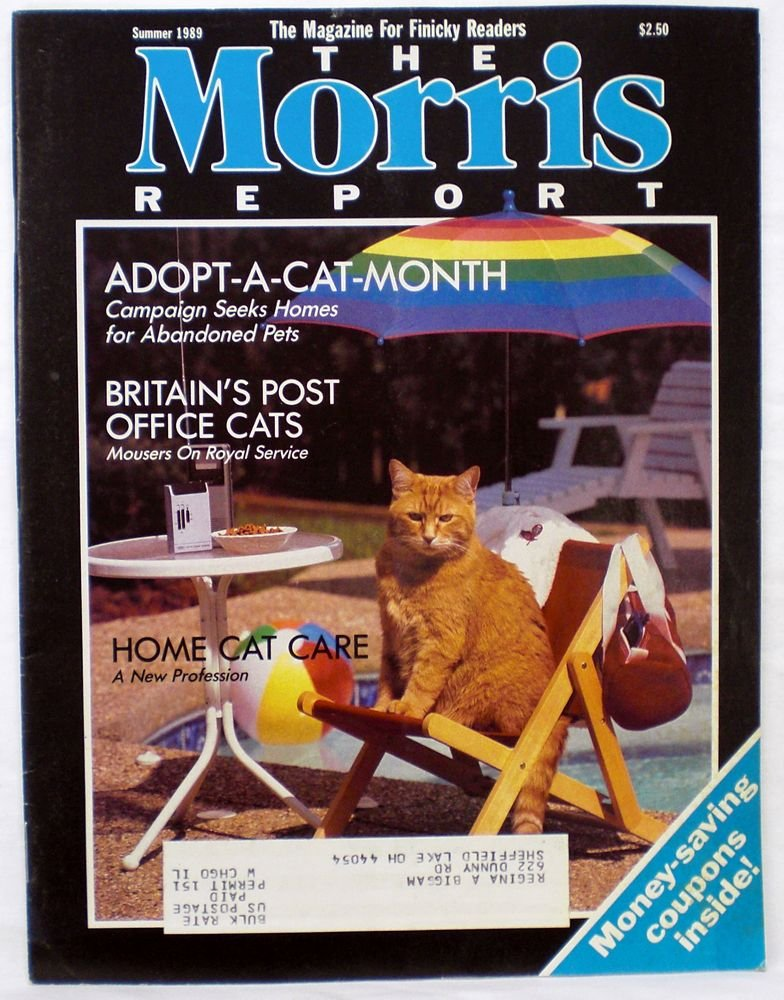 The Morris Report - Cat Care Magazine - Summer 1989 (The Magazine For Finicky Readers, Vol. 2, No. 4)