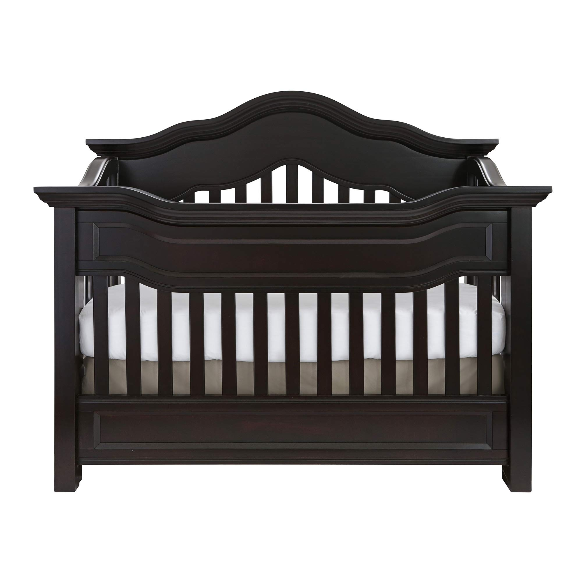 Full Size Conversion Kit Bed Rails for Baby Appleseed Beaumont, Chelmsford, Davenport, Kennedy, Millbury, Stratford Cribs (Espresso) by CC KITS (Image #6)