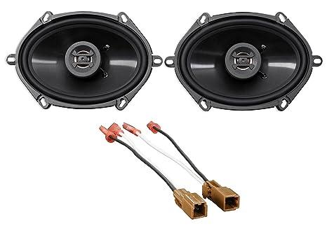 amazon com 6 x 8 front factory door speaker replacement kit forNissan Altima Door Speaker #21