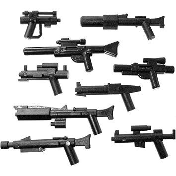 LEGO Star Wars - Juego de 9 tipos diferentes de armas: Amazon.es: Juguetes y juegos