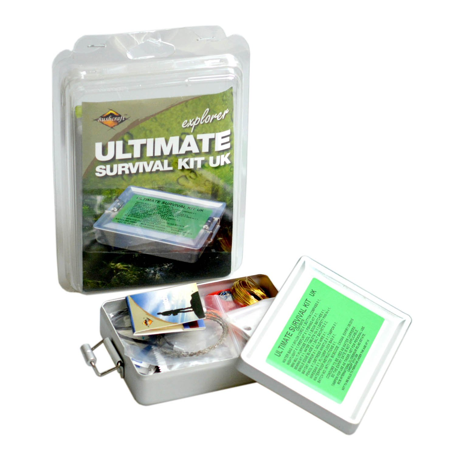 Mobile Foodie Survival Kit Bushcraft Bcb Ultimate Survival Kit Silver Amazoncouk Sports
