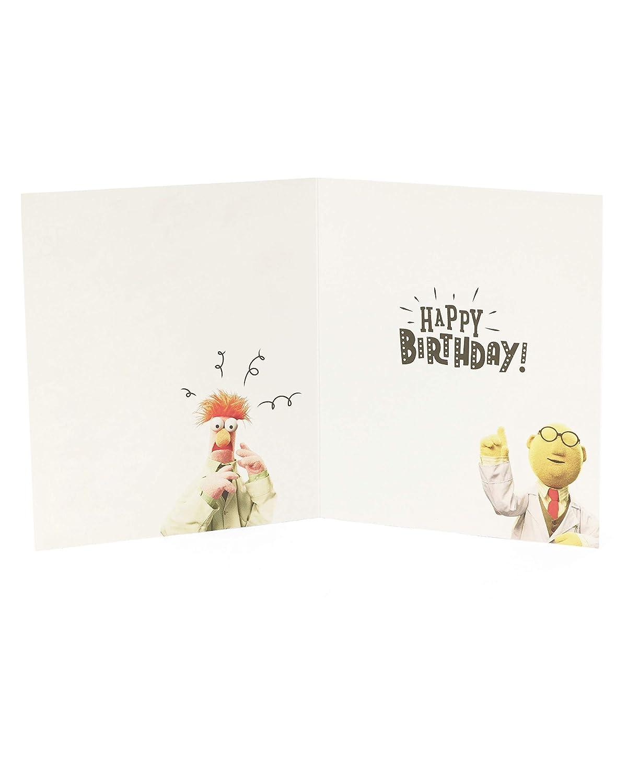 /0-1/Disney Muppets biglietto di compleanno Hanson White 602455/