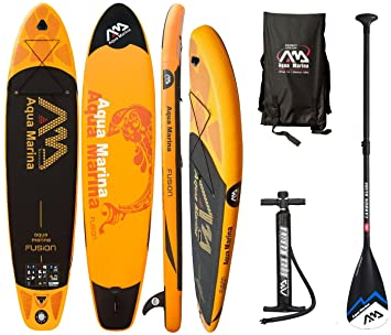 AQUA MARINA FUSION SUP hinchable Stand Up Paddle Tabla de surf Board Carbon Remo: Amazon.es: Deportes y aire libre