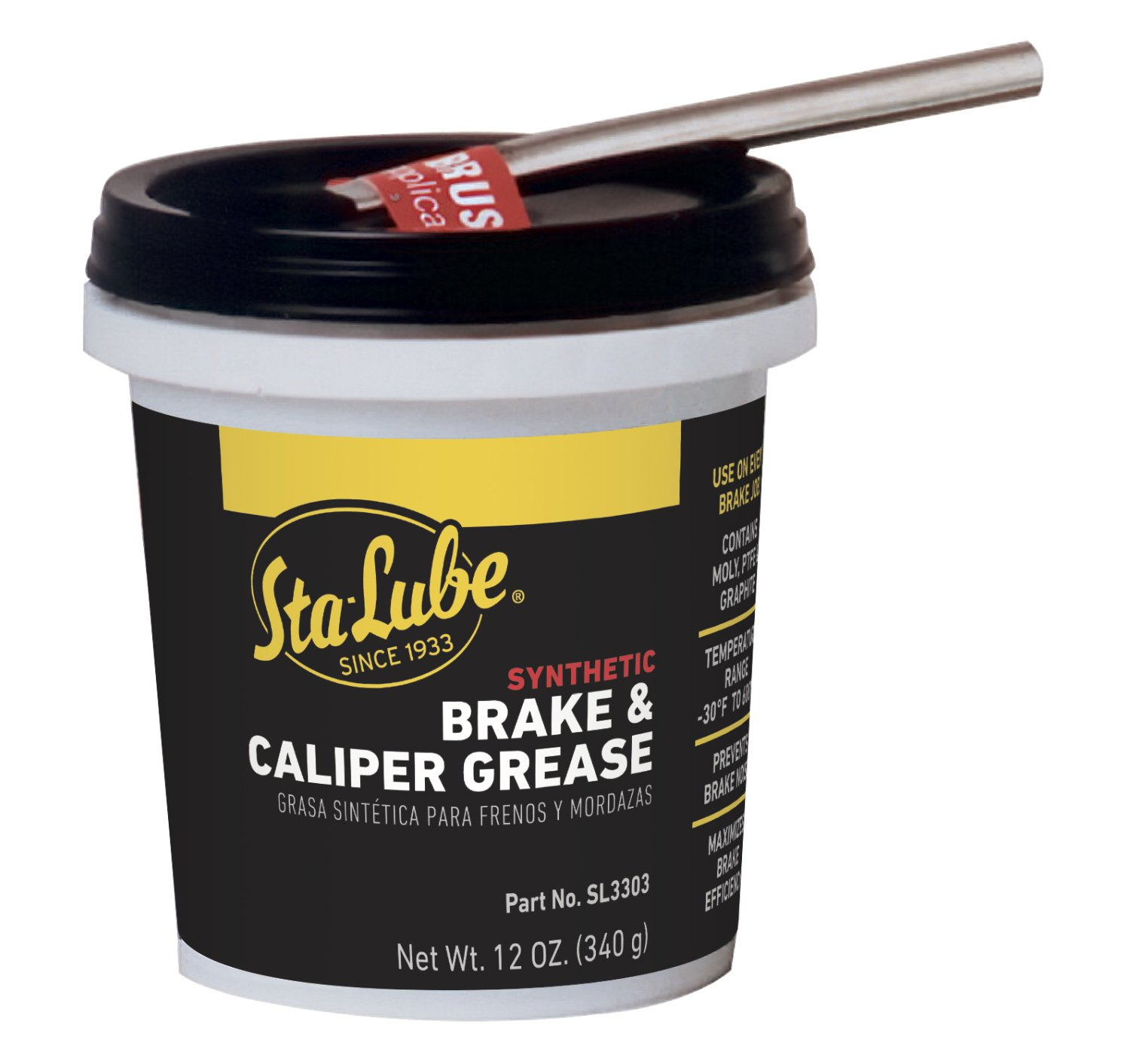 Sta-Lube SL3303 Brake Caliper Synthetic Grease - 12 Wt Oz. by CRC