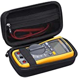 Aproca Hard Travel Storage Case for Fluke 117/115 Electricians True RMS Multimeter