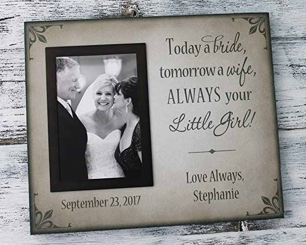 Amazoncom Father Of The Bride Frame Mother Of The Bride Frame