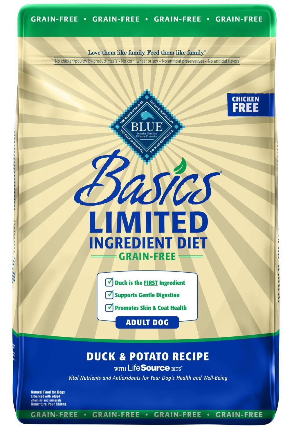 Blue Buffalo Limited Ingredient Grain Free Dog Food