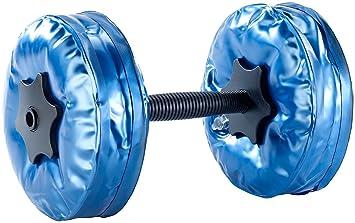 PEARL - Juego de mancuernas rellenables(4 kg cada pesa, 2 unidades): Amazon.es: Deportes y aire libre