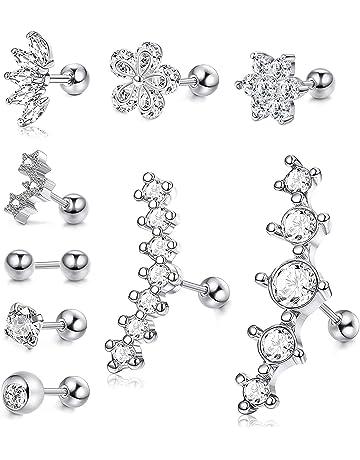 charms pendentif argent 925 avec 3 zircones pour bracelet /à breloques ou cha/îne #c57 MATERIA, point g