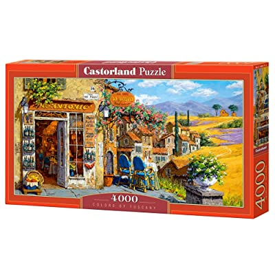 Castorland Colors of Tuscany Puzzle (4000 Piece): Toys & Games