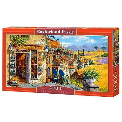 Castorland C-400171-2 - Puzzle - Couleurs de la Toscane - 4000 Pièces
