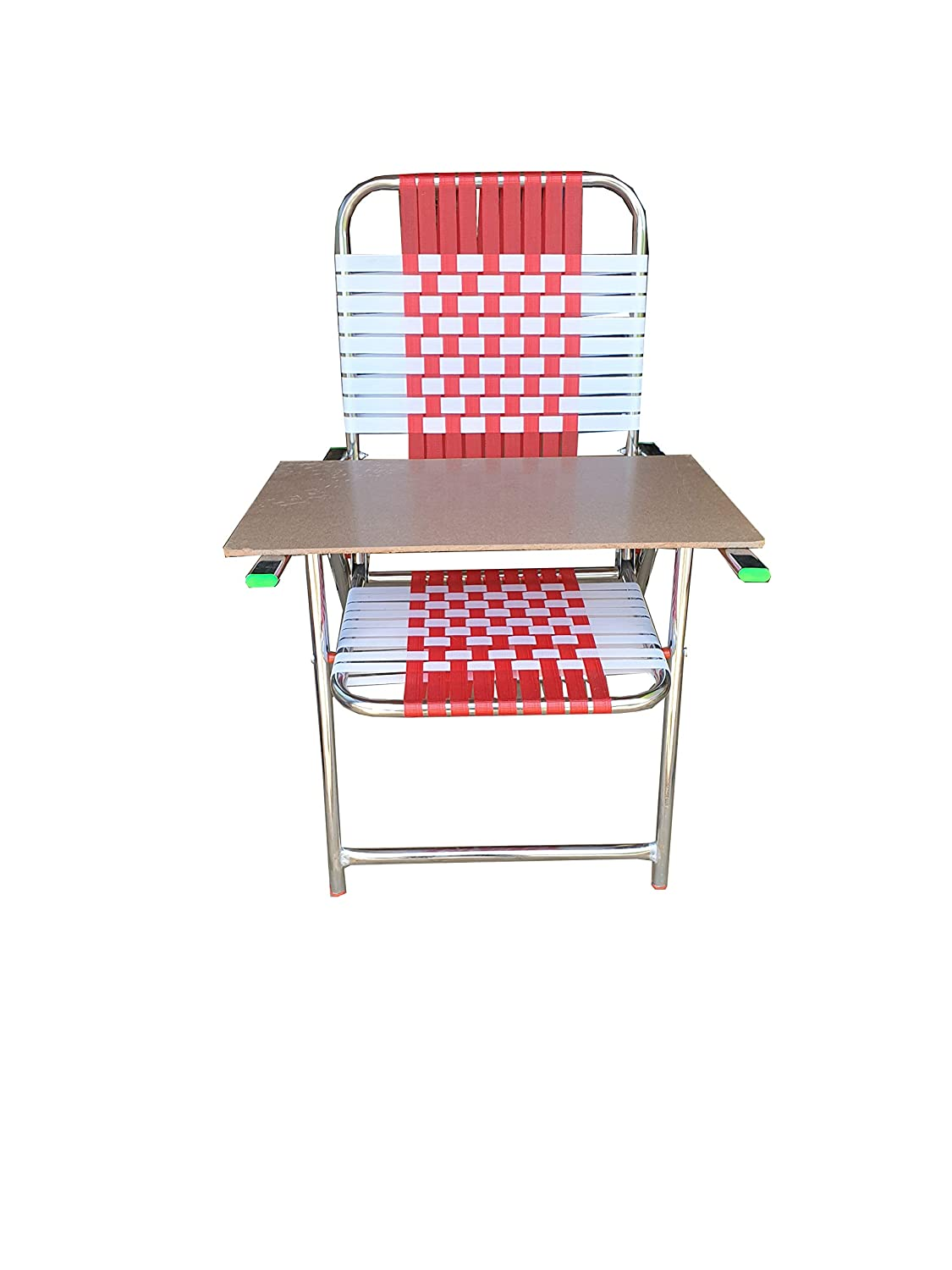 Dhavesai Steel Folding Chair with Strong Long Handle + Free 6mm