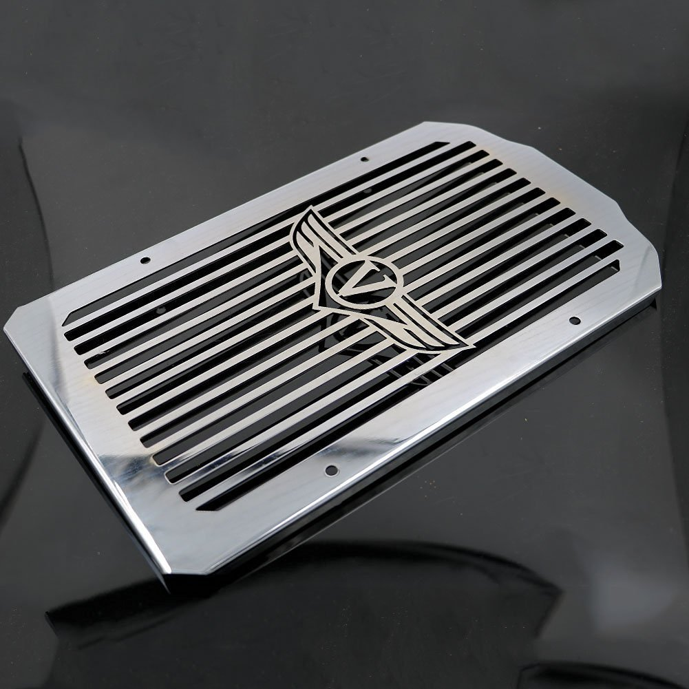 Alpha Rider Motorcycle Stainless Radiator Cover Grill Guard For Kawasaki VN900D Vulcan 900